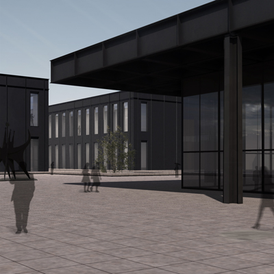 Extension to the Neue Nationalgalerie</br></br>
