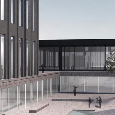 Extension to the Neue Nationalgalerie<br><br>